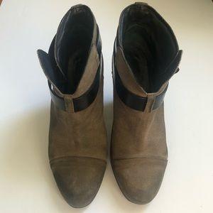 Rag & Bone Harlow boots 8.5/39 taupe/gray